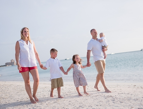 Beautiful Family Pictures at the Marriott Aruba