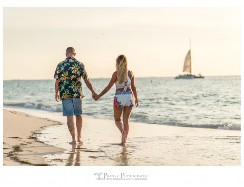 Proposal and Engagement Photography at Eagle Beach